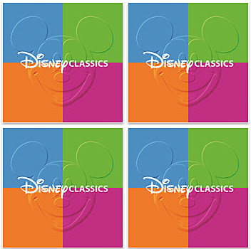 Disney Classics new soundtrack music album four disc theme park