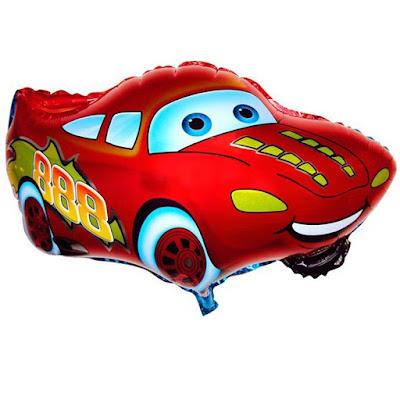 Balon Foil Karakter Cars Metalik