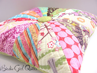Birdie Girl Quilts Pillow