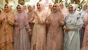 Perancang Busana Muslim Yuni Soehandi Launching 24 Koleksi Baru Di 101 Hotel Bogor
