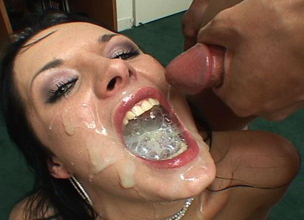 рот полный спермы картинки