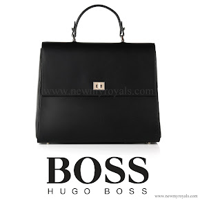Queen Letizia Style HUGO BOSS Bespoke Leather Handbag