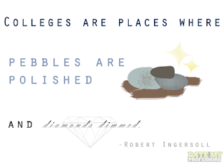 college campus dp quotes pictures pebbles are polished