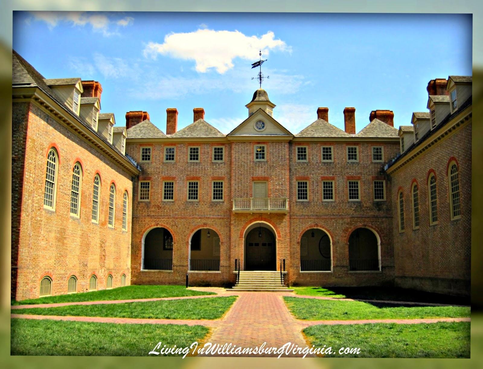 Living In Williamsburg, Virginia: The Wren Building, College of ...