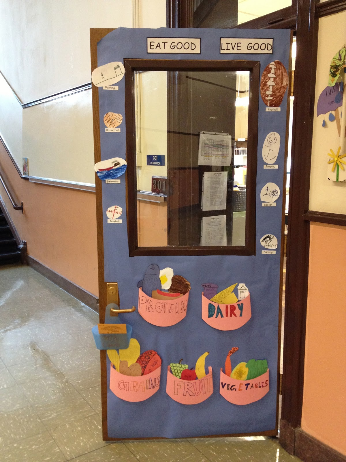 Leading Up To The Family Reading Night, We Had A Door Decorating Contest.  We Didnu0027t Win, But My Kids Did Such A Nice Job, I Wanted To Share Our Door  With ...