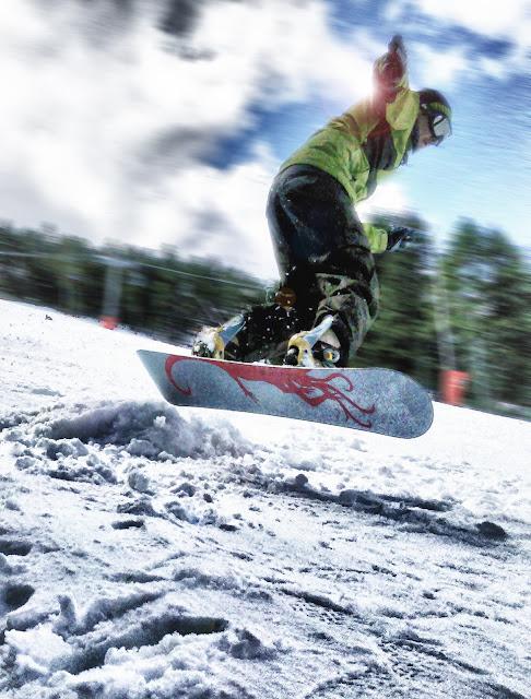 Snowboard en Valdelinares (Teruel)
