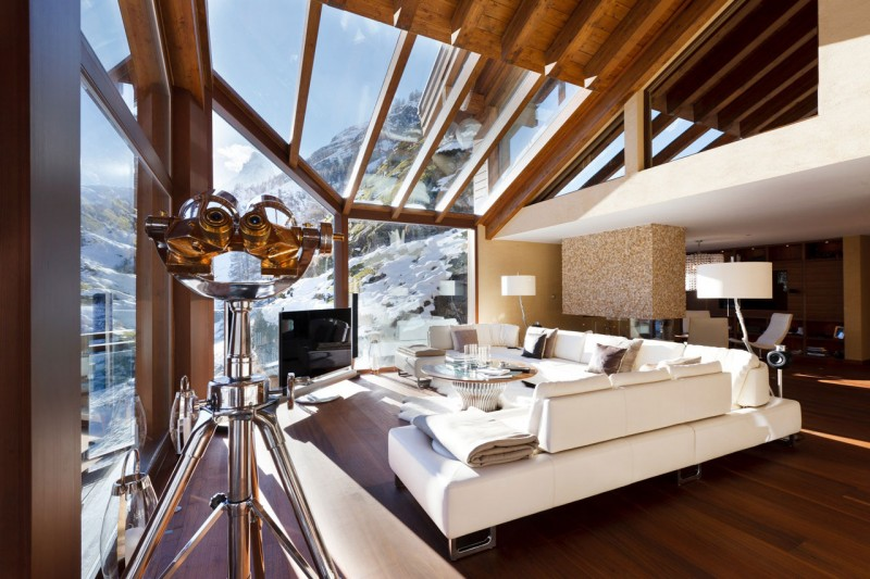 Luxury 5 star chalet boutique hotel in swiss alps most for Ski designhotel