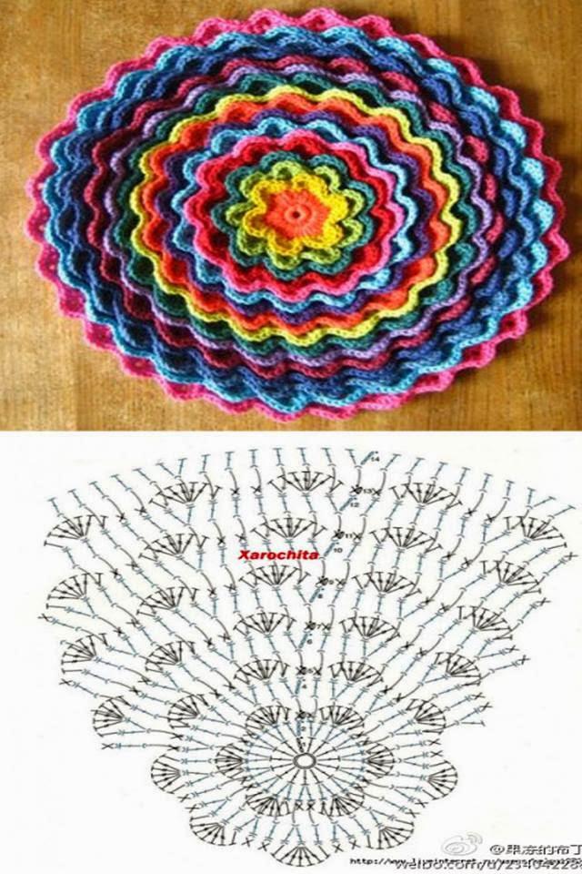 Su Crochet: fundas para almohadones