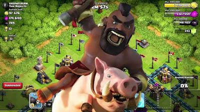 Base Anti Hog Rider COC