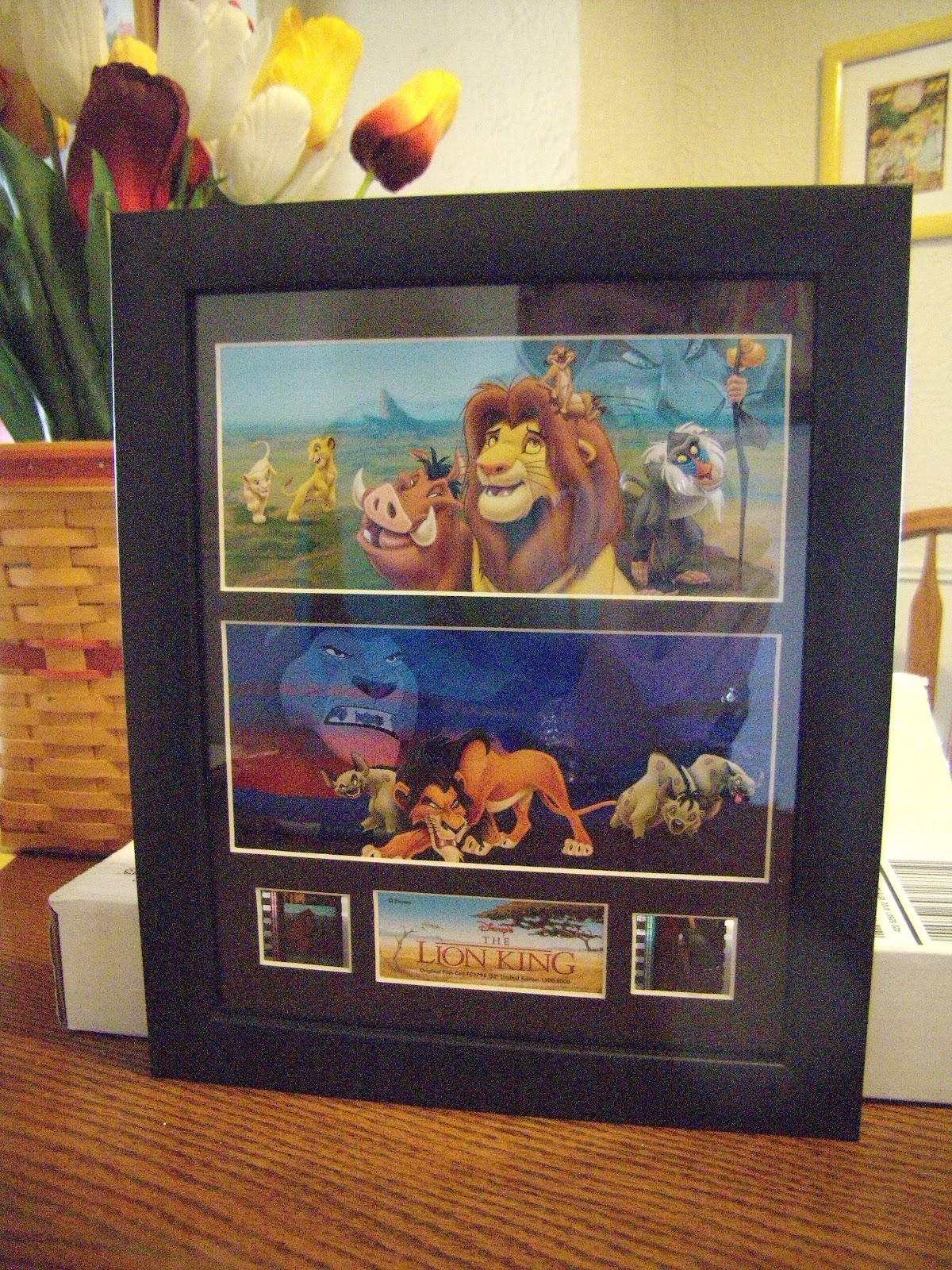 Williams Family: Our Disney Framed Art Arrived!