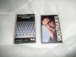 Cintas compradas por el autor del blog en Discos MelgaMusic Granada, allá por la década de los 80 del pasado siglo.