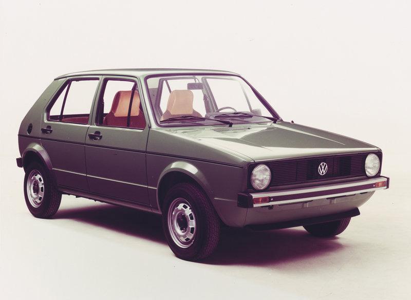 Auto Cars Project Vw Golf I 1974