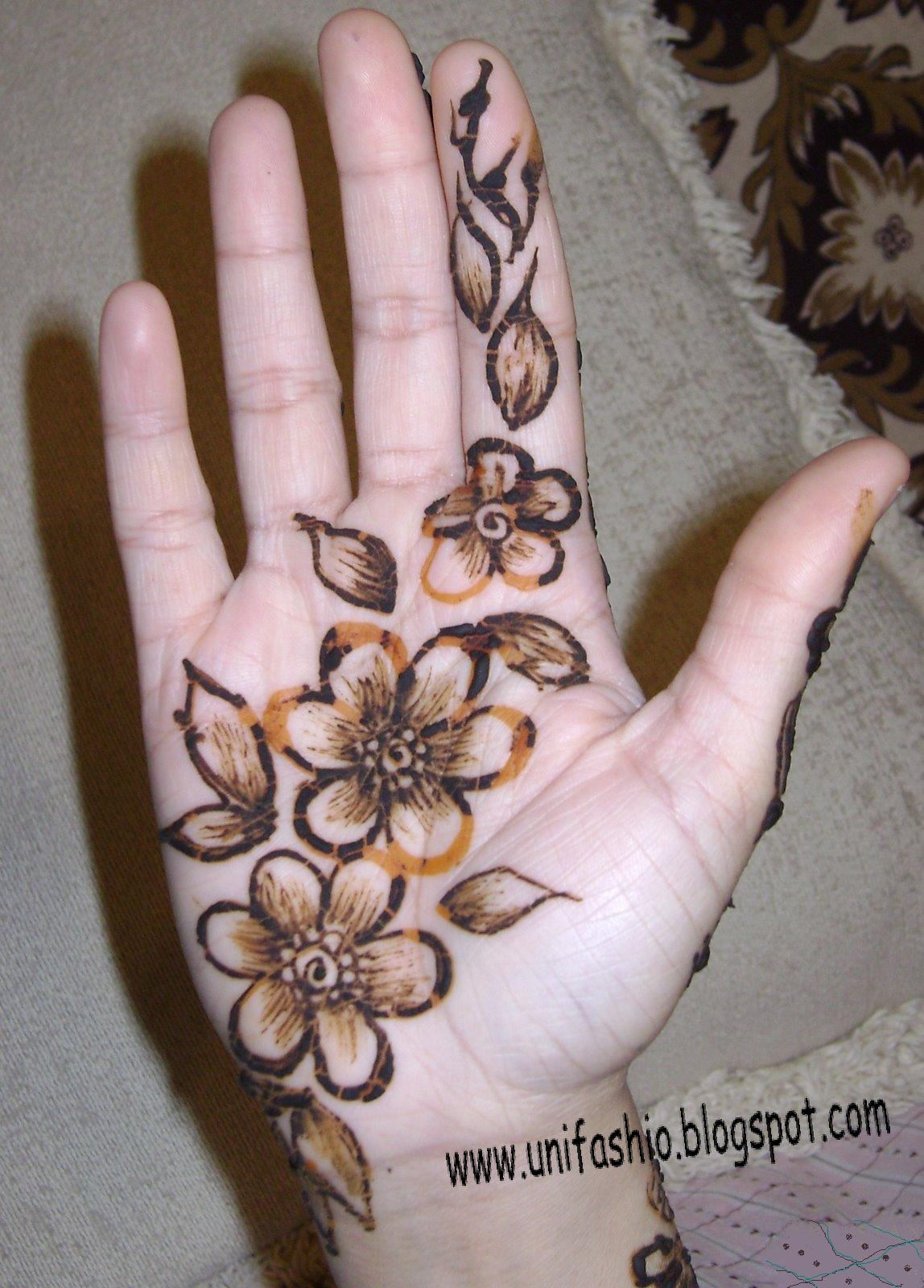 Top 20 Easy To Copy And Make Mehndi Designs For Hands Eid And