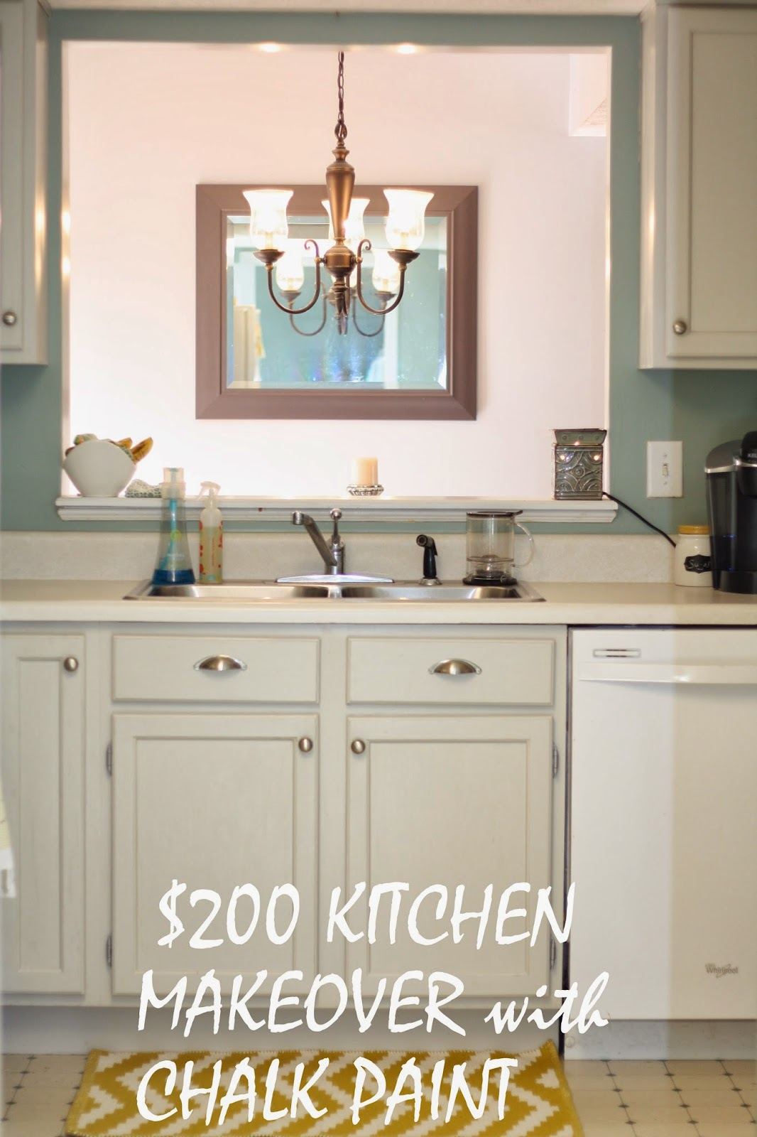Domestic Mother: Maison Blanche Kitchen Cabinet Makeover!