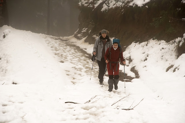 Fagaras Hikes - Winter weekend_start