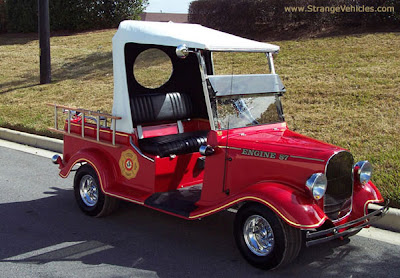 Unusual Golf Carts and Creative Golf Cart Designs (12) 11