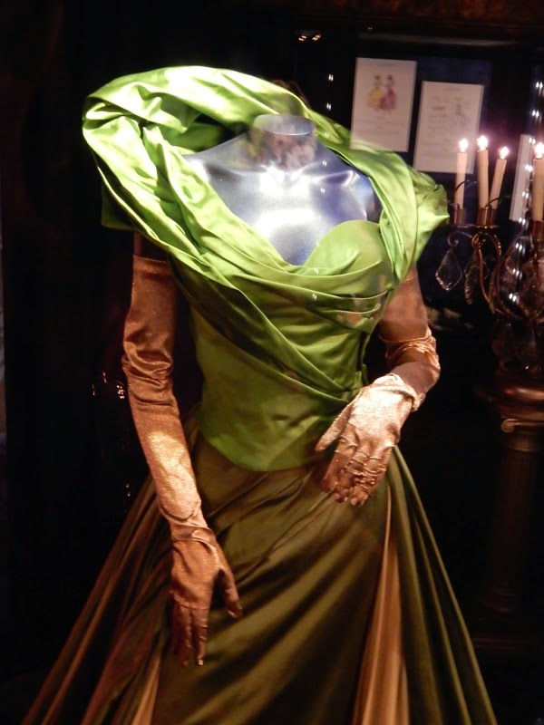 Cinderella Stepmother green dress