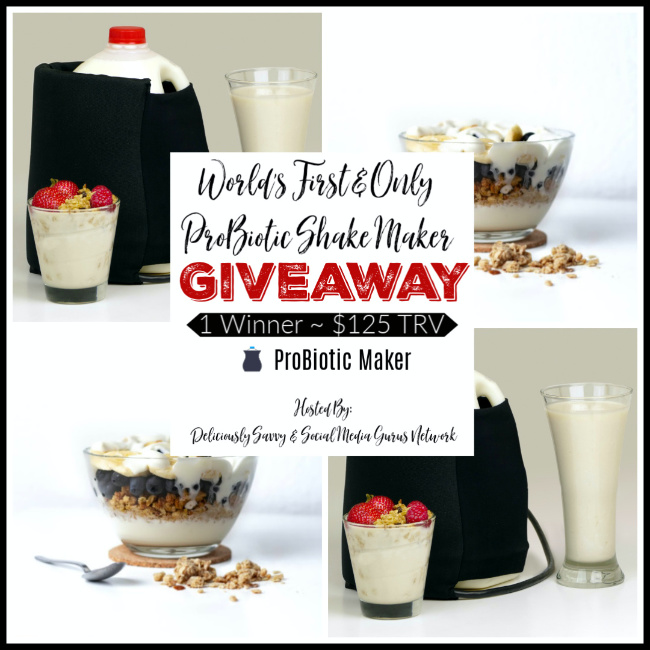 ProBiotic Shake Maker Giveaway