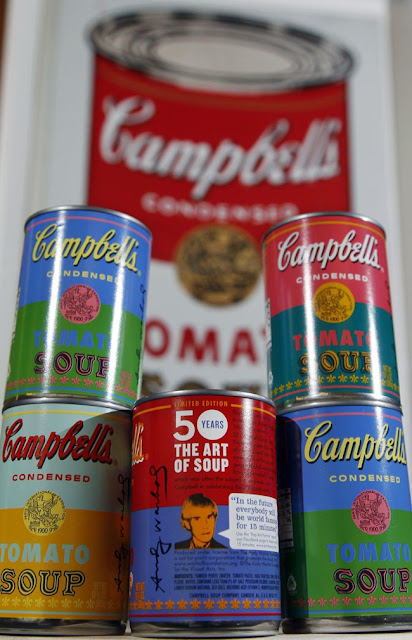 Andy Warhol Campbel Soup Can Lata Sopa