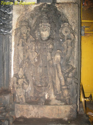Dwarpala at the Chennakeshava Temple  entrance in Bangalore
