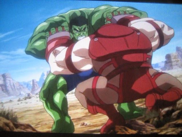 "Red Hulk Vs Trion Juggernaut: ""Hero Envy"" The Blog Adventures: HULK VS JUGGERNAUT"