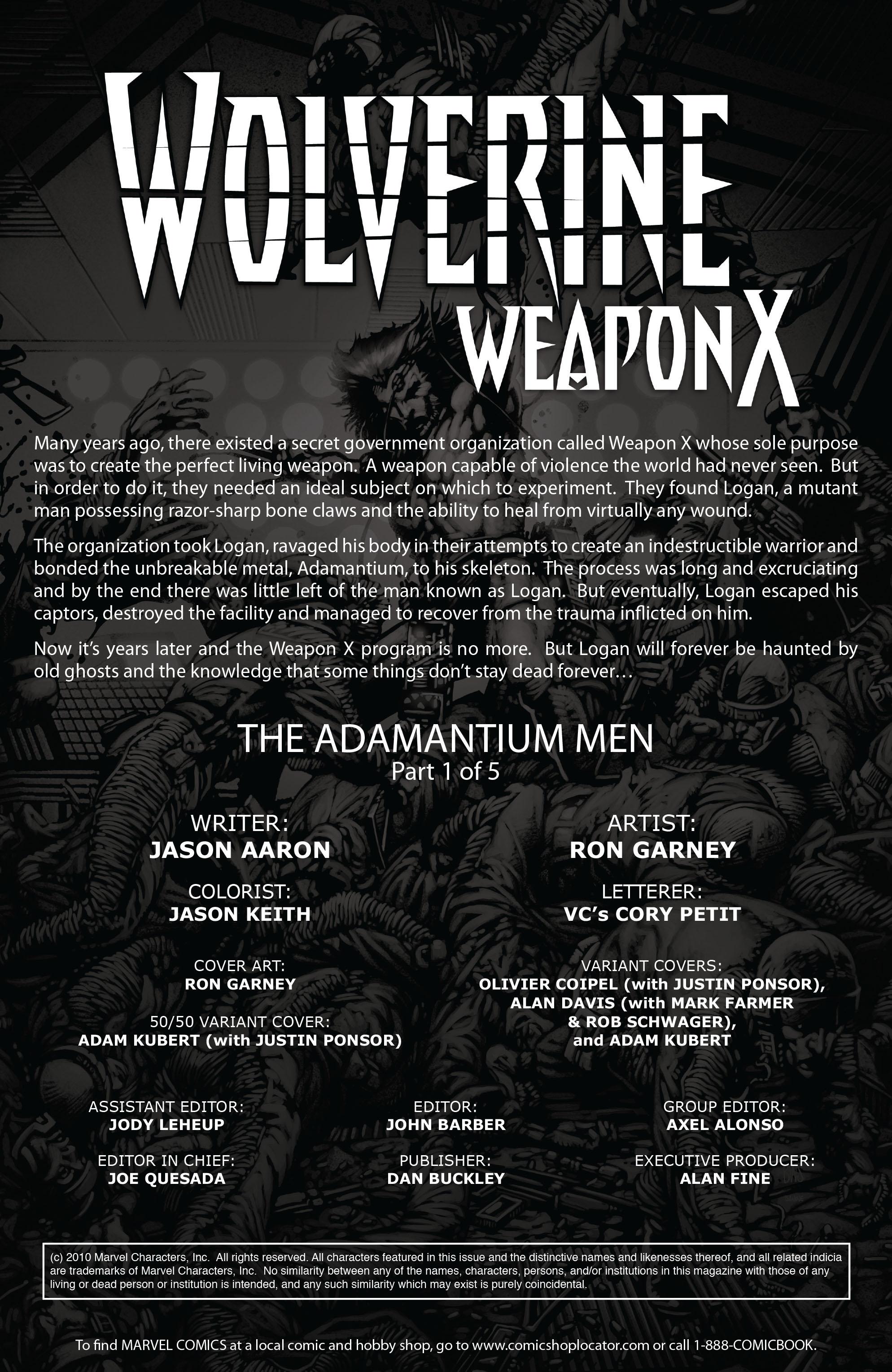 Wolverine: Weapon X #1 #16 - English 2