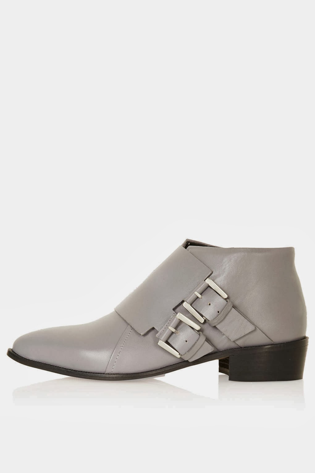 light grey ankle boots
