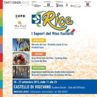 Rice I Sapori del riso Italiano Quinta edizione