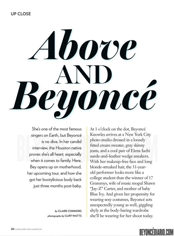 Shape magazine Avril 2013 1