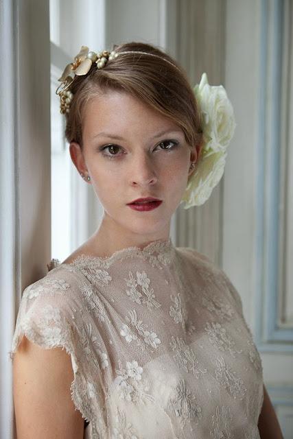 HVB vintage wedding blog, lace wedding dresses feature