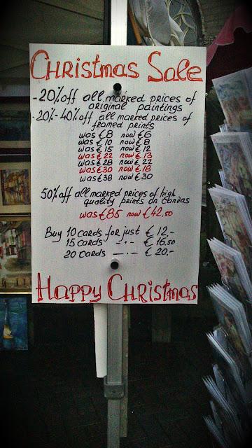 Galway Art Market Christmas Pathological Gomez
