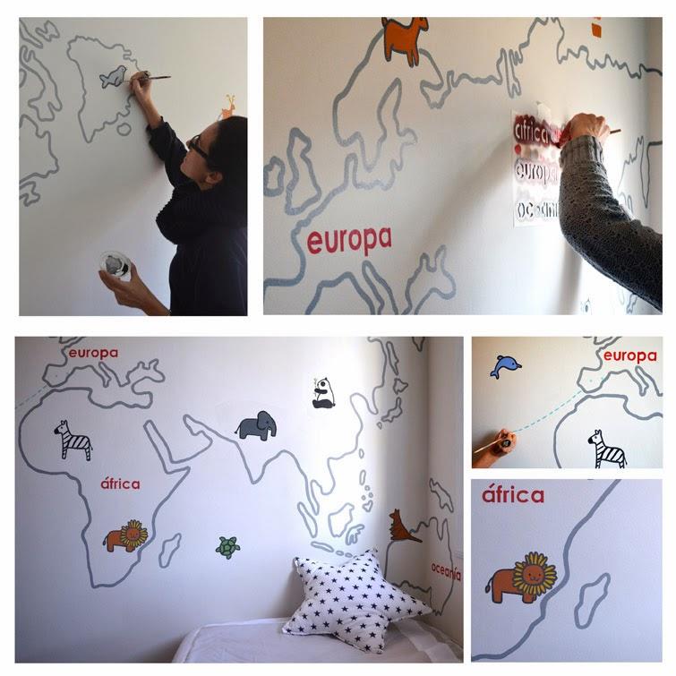 Murales infantiles pintados a mano mural pintado a mano - Murales infantiles pintados a mano ...
