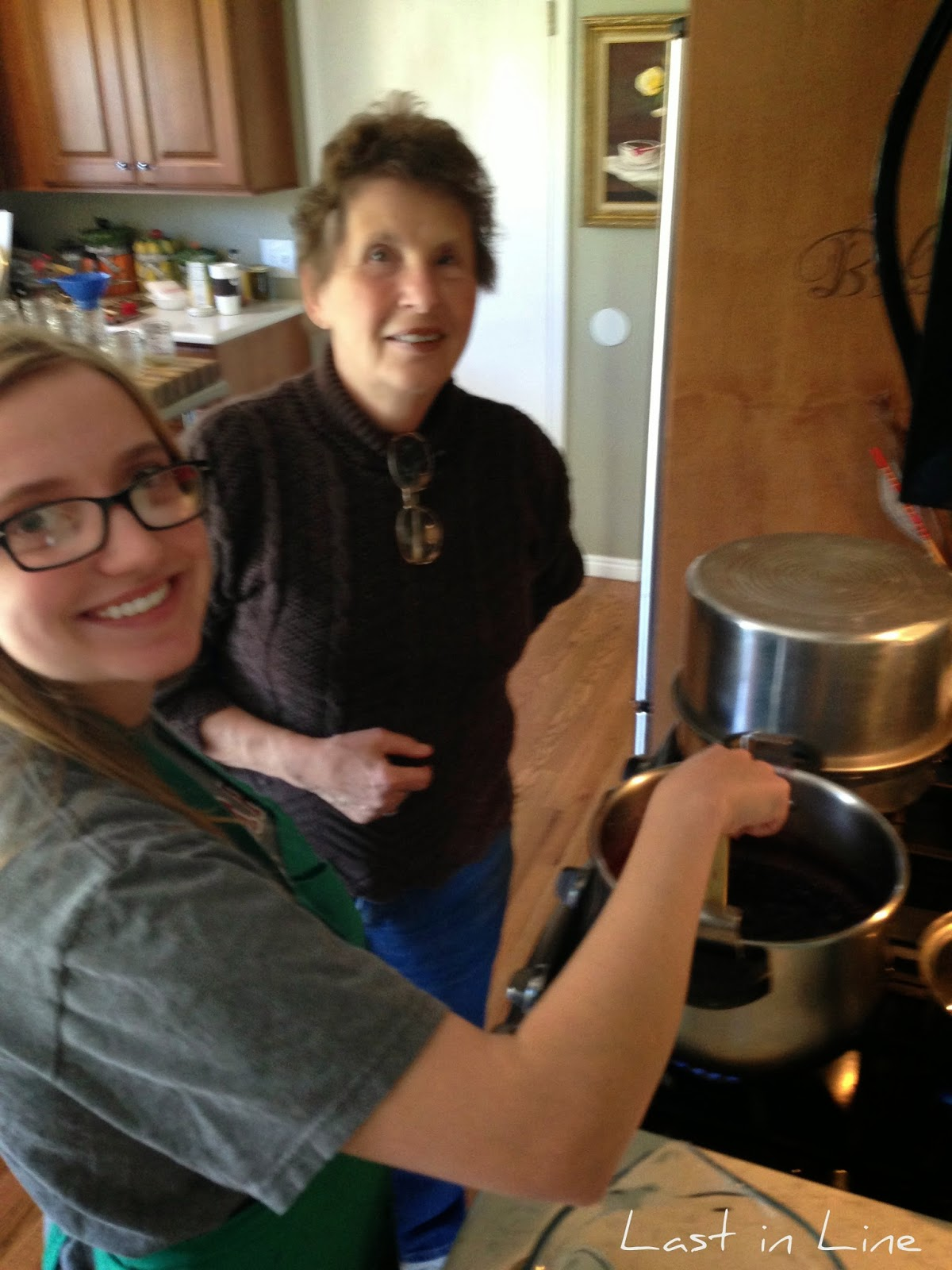 Last in Line: Making Jelly with Barbara Salsbury
