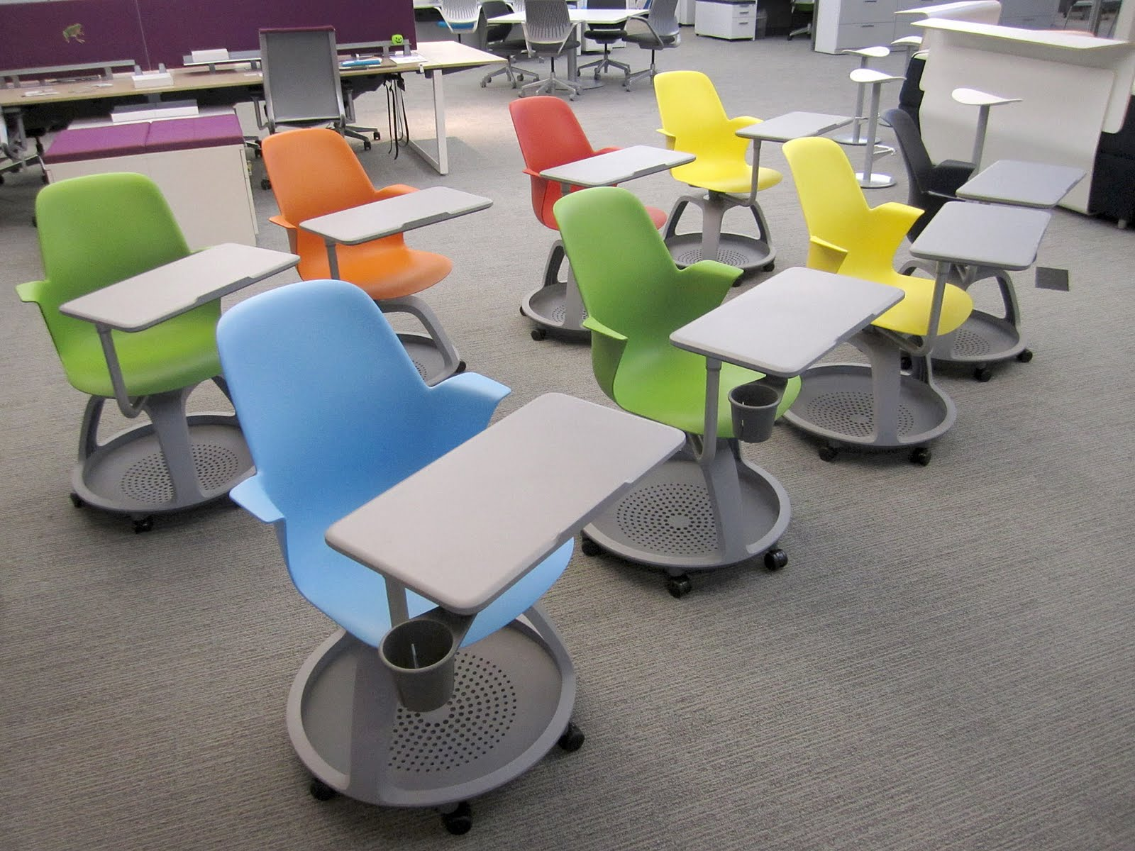 Innovative Classroom Desks ~ The learning space spaces by design