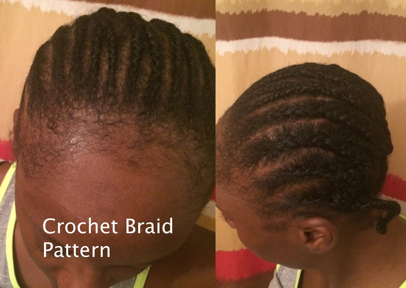 Old Fashioned Crochet Hair Braid Patterns Illustration - Sewing ...