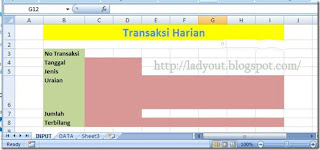 Membuat aplikasi sederhana untuk menyimpan transaksi pemasukan dan pengeluaran