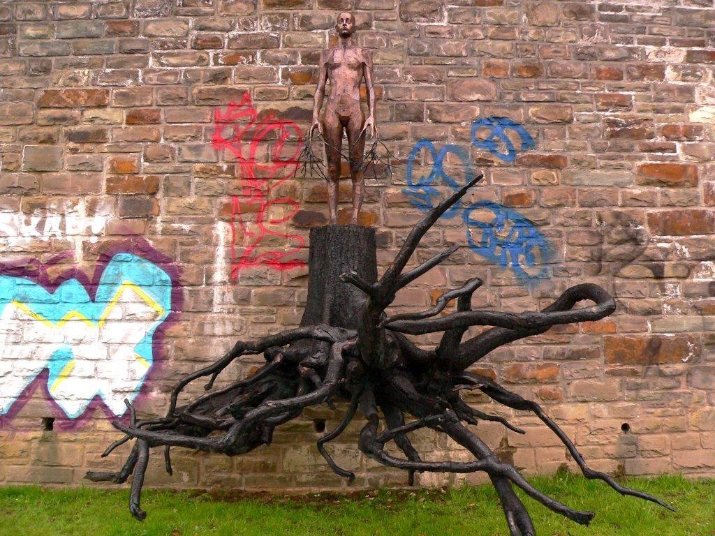 Camping Rhein Remagen Goldene Meile Frühling Ostern Skulpturenufer