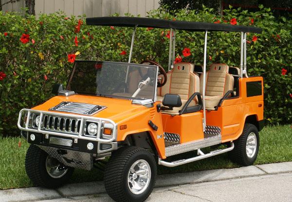 12 unusual golf carts and creative golf cart designs for Narrow golf cart