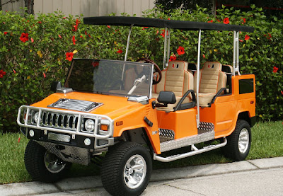 Unusual Golf Carts and Creative Golf Cart Designs (12) 1