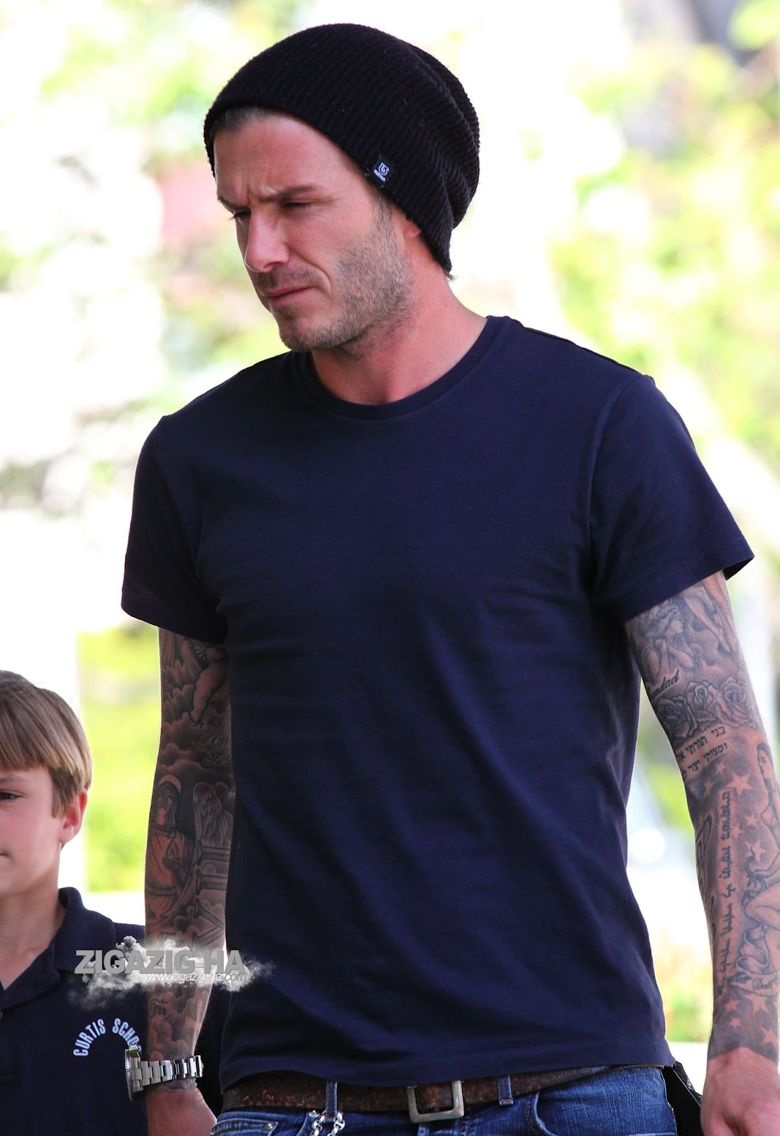 David Beckham In Burton David Beckham All Fashion