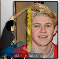 What is the height of Niall Horan?