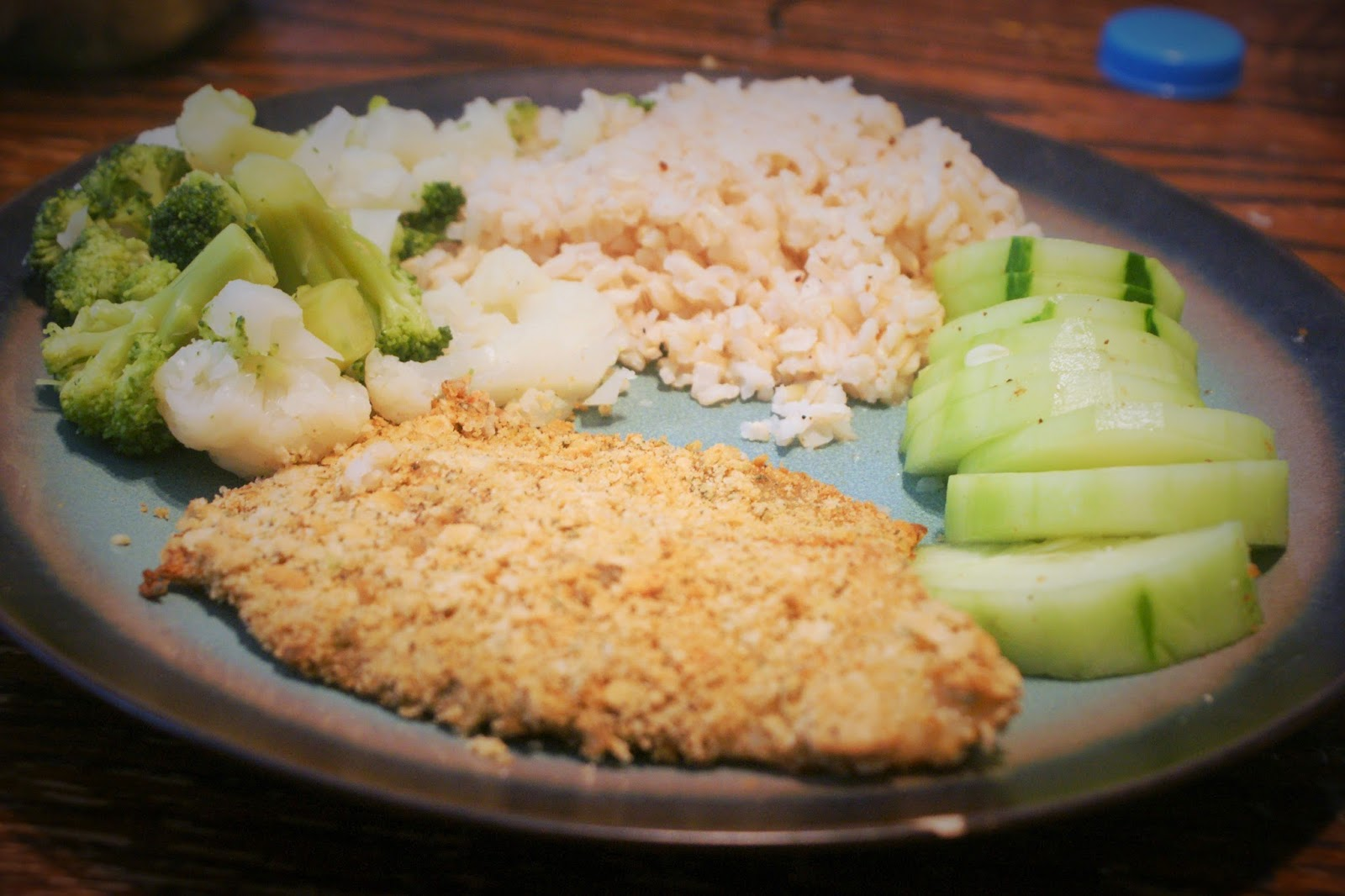 The fat free queen dare foods contest gluten free for Gluten free fish breading