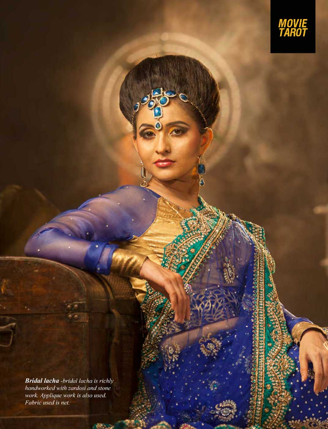 Photos of Bhama in bridal avatar for FWD Life Magazine