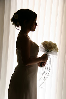 Bride represents the church, image courtesy of Barefoot Weddings Key West