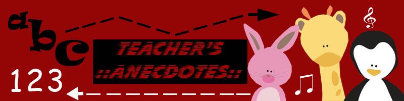 Teacher's Anecdote