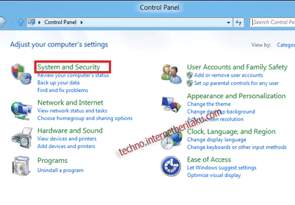 Enable File and Printer Sharing Windows 8