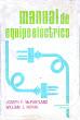 Manual de equipo eléctrico - J. Partland et W. Novak - Editorial Diana - México -1977
