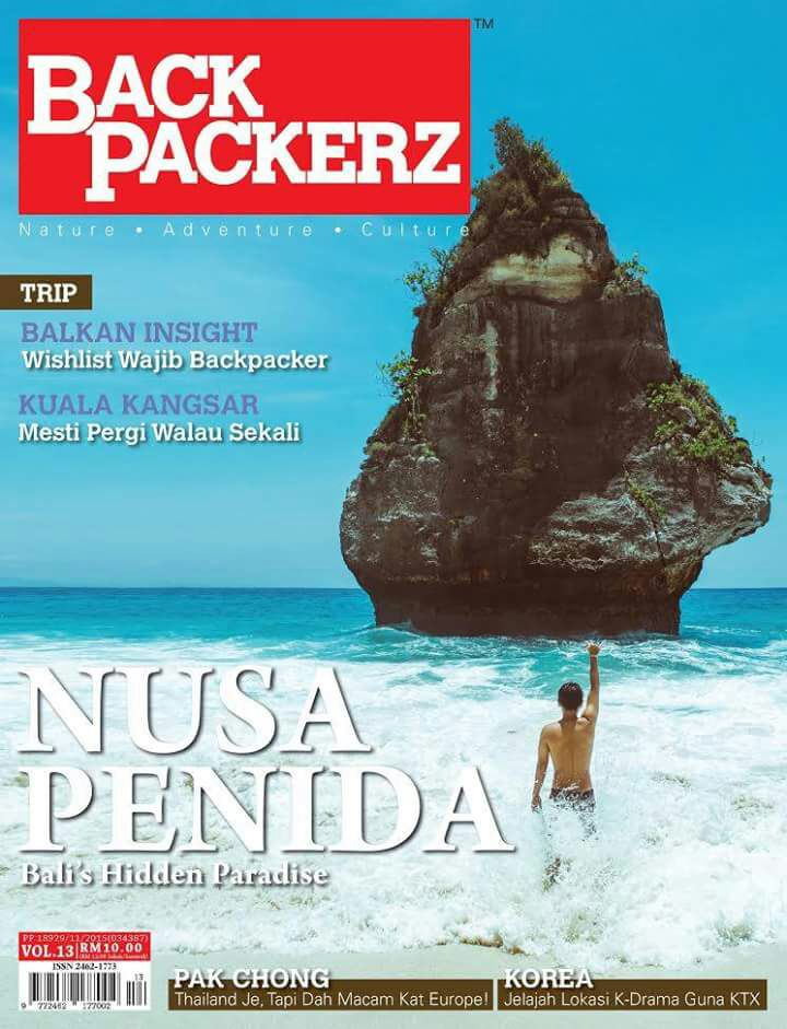 Trip Thailand di Majalah Backpackerz!
