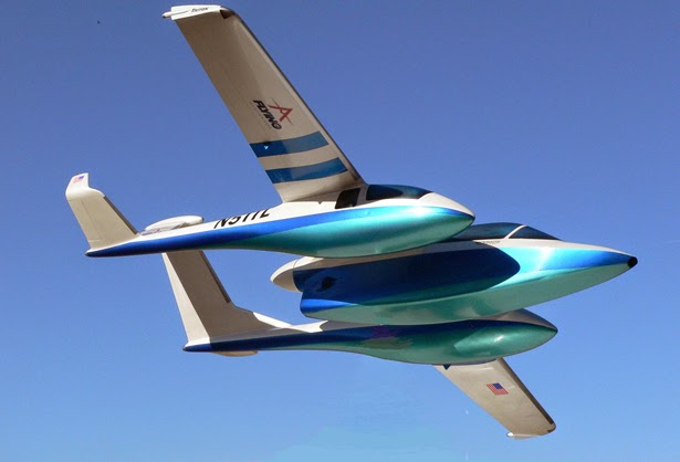 Spectator fliying - Concept Aircraft - The Triton - Micronautix - BSI