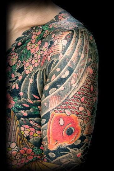tatoo de carpa, tatuagen carpa varias ~ ESCREVE NÃO LÊ
